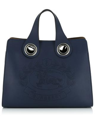 Shopper The Leather Crest Grommet Small BURBERRY