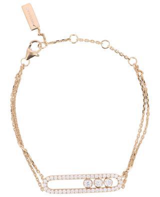 Armband aus Roségold mit Diamanten Move Classique MESSIKA