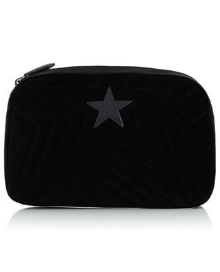 Stella Star Small quilted velvet bag STELLA MCCARTNEY