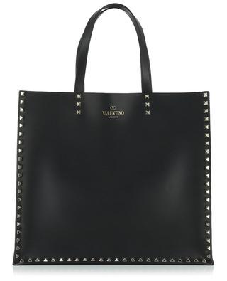 Rockstud smooth leather tote bag VALENTINO