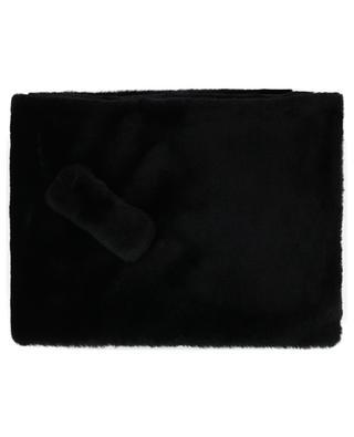 Faux fur scarf LEA CLEMENT