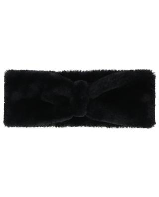 Faux fur headband LEA CLEMENT