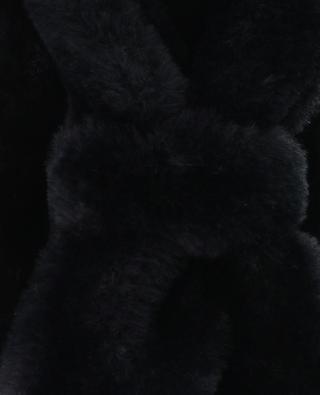 Faux fur headband LEA CLEMENT