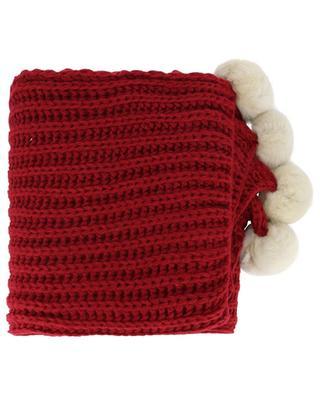 Alpaga wool and alpaca scarf LEA CLEMENT