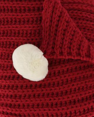 Écharpe en laine et alpaga mélangés Alpaga LEA CLEMENT