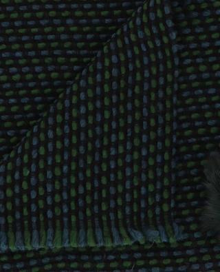 Écharpe ornée de fourrure Eddy Whim LEA CLEMENT