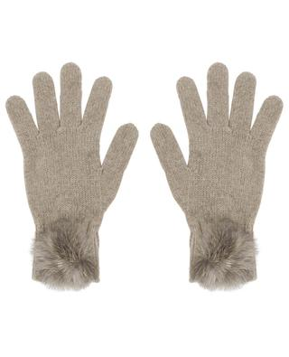 Trocadéro wool and cashmere gloves LEA CLEMENT