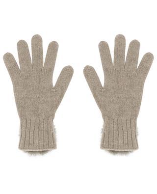 Gants en laine et cachemire Trocadéro LEA CLEMENT
