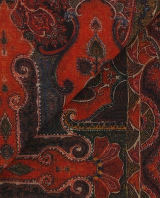 Leichter Schal aus Kaschmir mit Print PASHMA