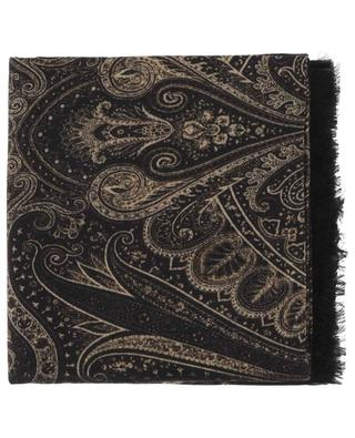 Leichter Schal aus bedrucktem Kaschmir PASHMA