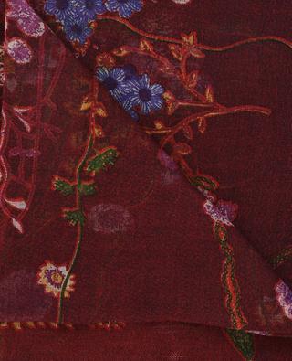 Leicher Schal aus Kaschmir und Seide PASHMA