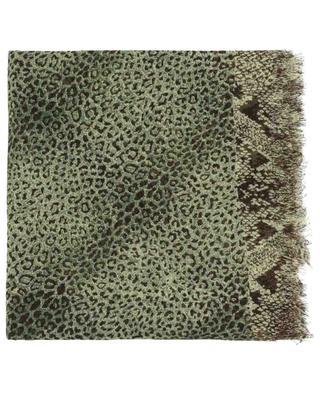 Lightweight cashmere and silk scarf PASHMA
