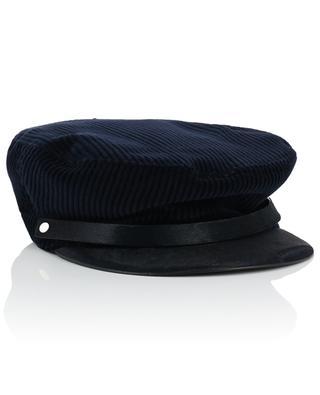 Corduroy newsboy cap INVERNI FIRENZE