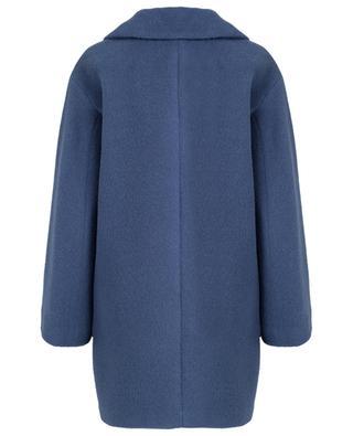 Mantel aus Alpaka und Wolle Green WEEKEND MAXMARA