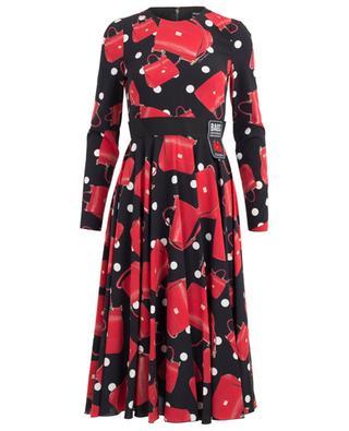 Robe en soie Fashion Devotion DOLCE & GABBANA