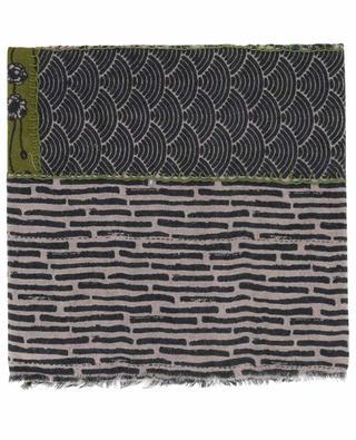 Leichter Schal aus Wolle Metric STORIATIPIC