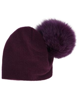 Mütze aus Wolle und Fuchs Batik NIMA