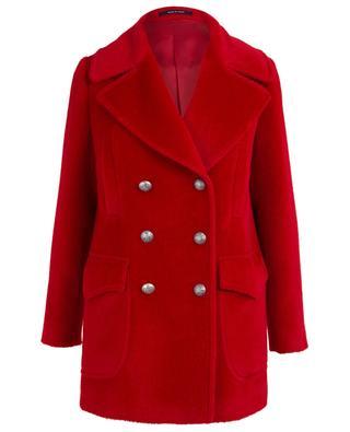 Diva alpaca and virgin wool coat TAGLIATORE