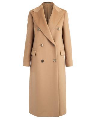 Manteau long en angora et laine vierge Jole TAGLIATORE