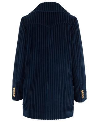 Manteau en velours côtelé Diva TAGLIATORE