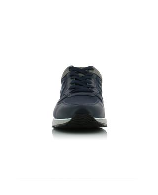 H321 fabric and leather sneakers HOGAN