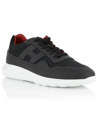 Interactive 3 fabric and leather sneakers HOGAN