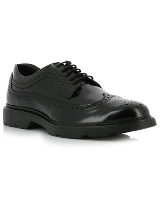 H393 leather derby shoes HOGAN