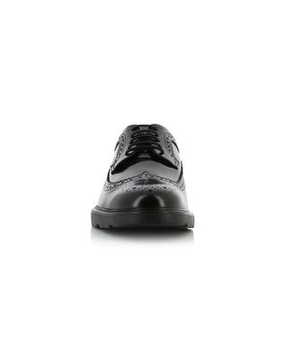 H393 leather derby shoes HOGAN
