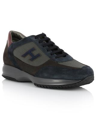 New Interactive mesh and suede sneakers HOGAN