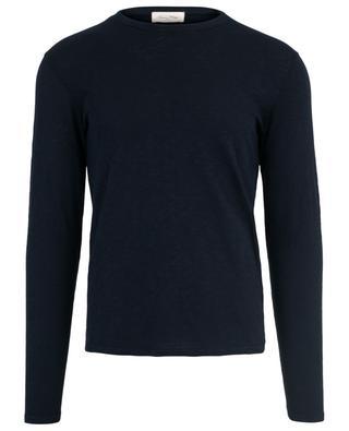 T-shirt à manches longues en coton Bysapick AMERICAN VINTAGE
