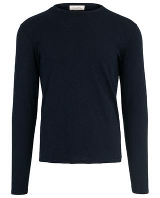 Bysapick long-sleeved cotton T-shirt AMERICAN VINTAGE