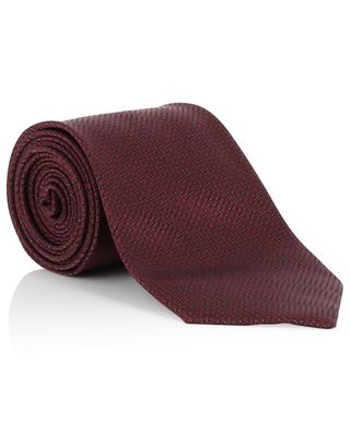 Cravate en soie texturée BRIONI