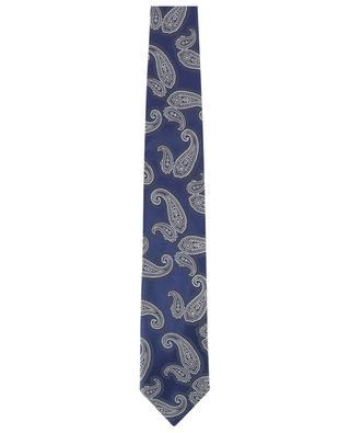 Textured silk tie BRIONI