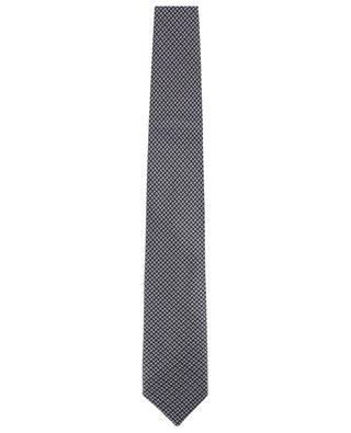 Cravate imprimée en soie BRIONI