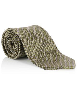 Bedruckte Krawatte aus Seide BRIONI