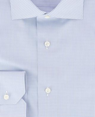 Kariertes Hemd aus Baumwolle BRIONI