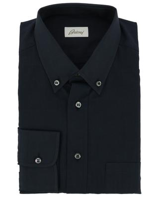 Cotton shirt with barrel cuffs BRIONI