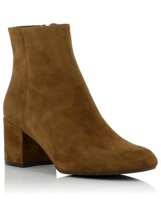 Heeled suede ankle boots BON GENIE GRIEDER