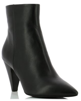 High heeled leather ankle boots BONGENIE GRIEDER