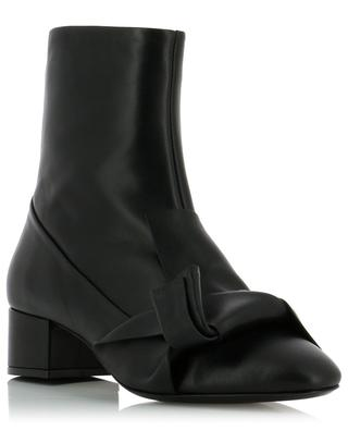 Leather ankle boots N°21