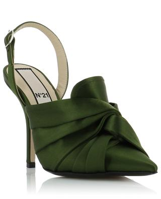 Satin pumps N°21