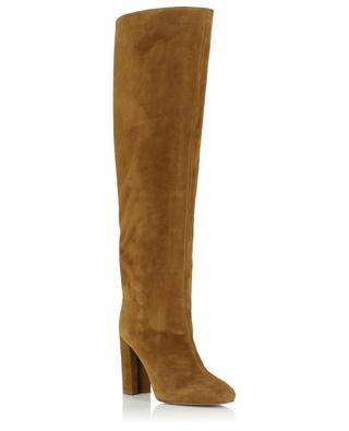 Heeled suede boots PURA LOPEZ