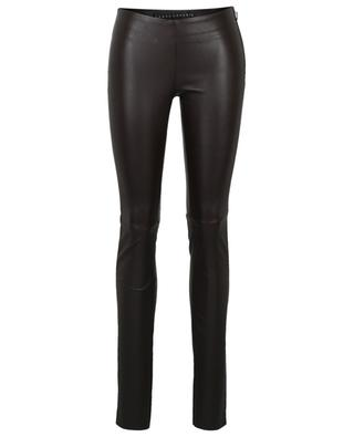 Lambskin leather leggings VENT COUVERT