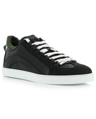 551 multi material low-top sneakers DSQUARED2