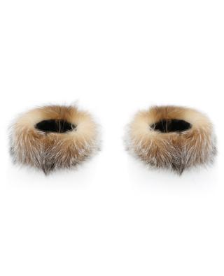 Fox fur cuffs MILLER