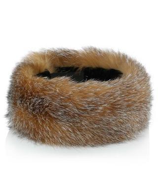 Fox adjustable fur headband MILLER