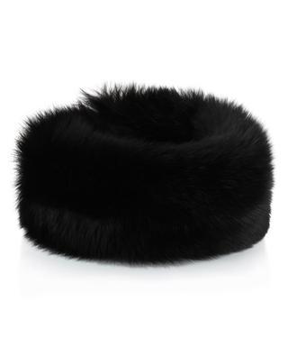 Verstellbares Stirnband aus Pelz Fox MILLER