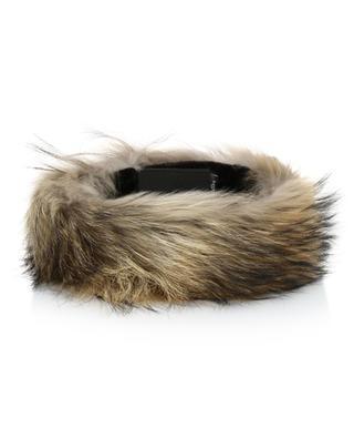 Bandeau réglable en fourrure de tanuki Raccoon MILLER