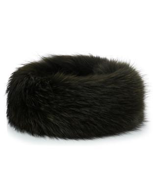 Verstellbares Stirnband aus Echtpelz Raccoon MILLER