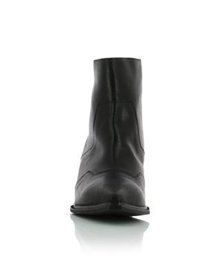 Stiefeletten aus Leder mit Metallic-Effekt VIC MATIE